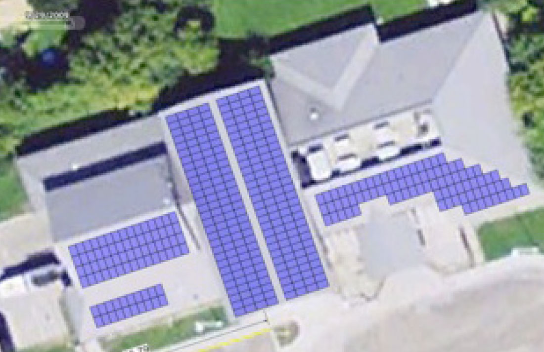 Claremont Community Centre Solar Panel Installation