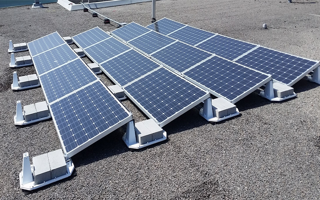 Solera Head Office set up solar panels on their rooftop