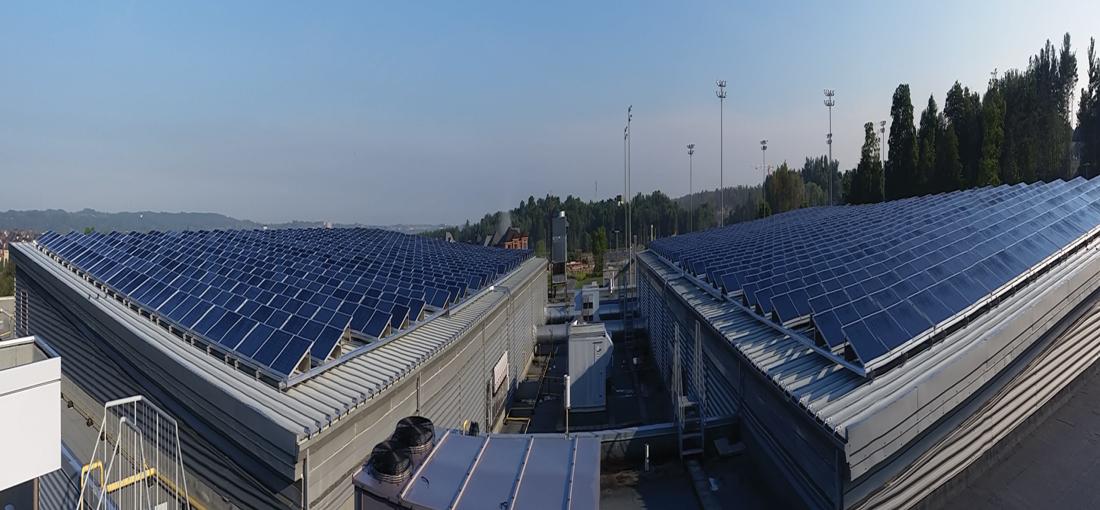 Stronach Aurora Recreation Complex Solar Installation