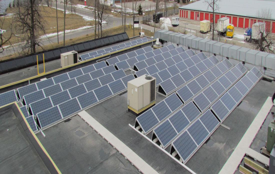 Underwriters Laboratories Rooftop Panels