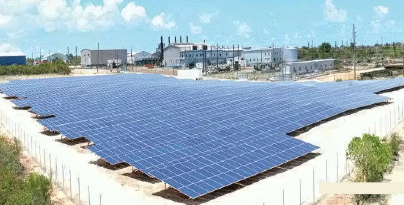 The Anguilla solar farm 2017
